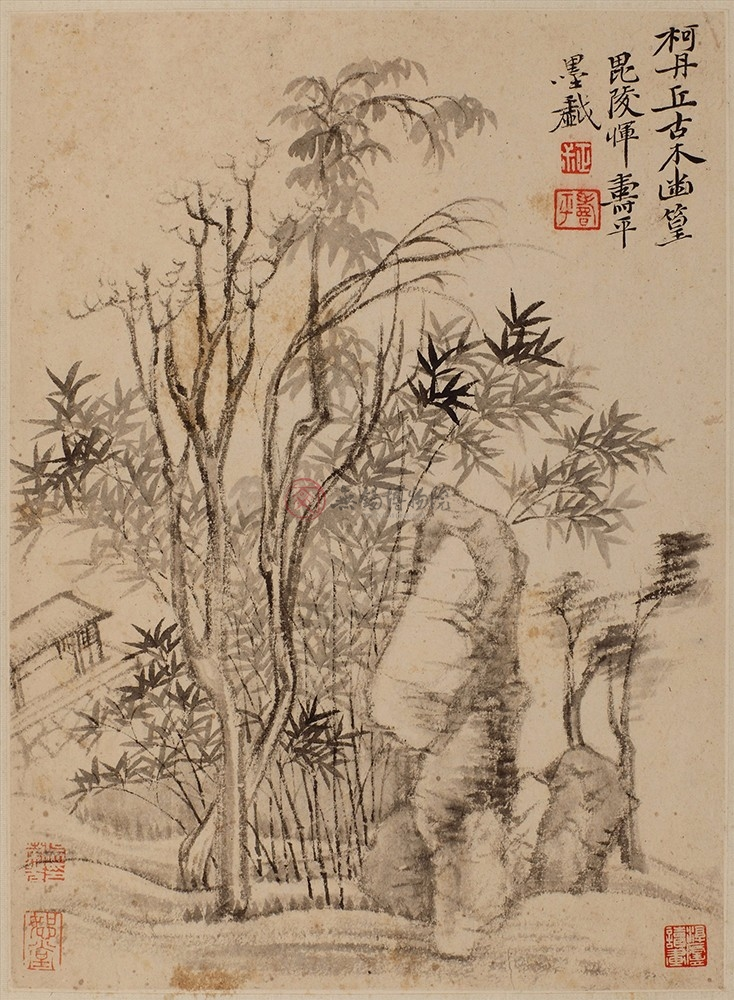 Landscape by Yun Shouping (Album), Qing Dynasty
